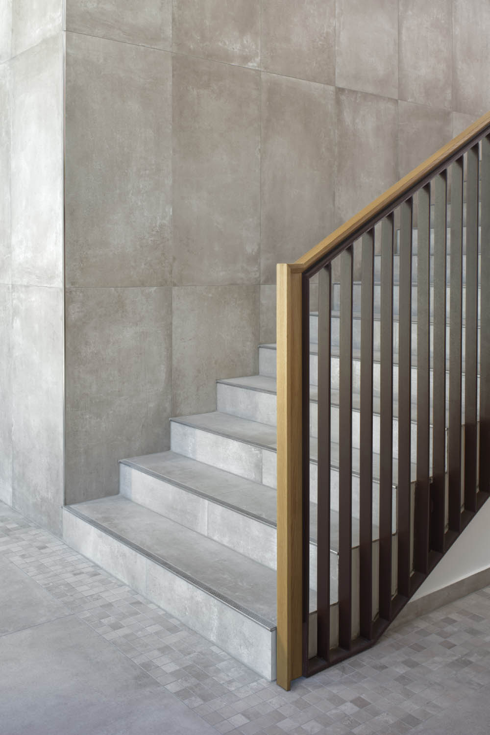 Detail of the staircase Werner Huthmacher