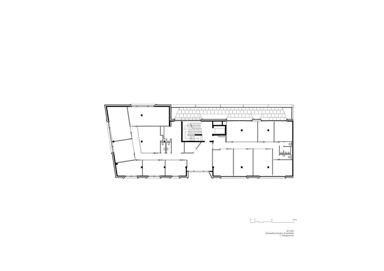 1st floor plan Tchoban Voss Architekten}
