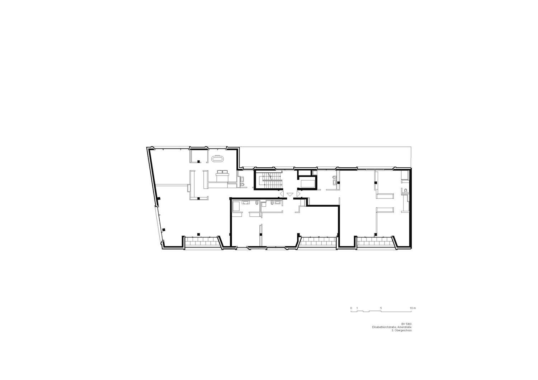 3rd floor plan Tchoban Voss Architekten}