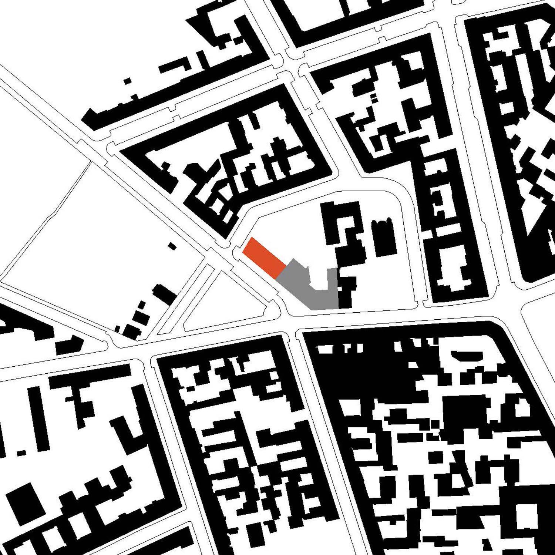 Site plan Tchoban Voss Architekten}