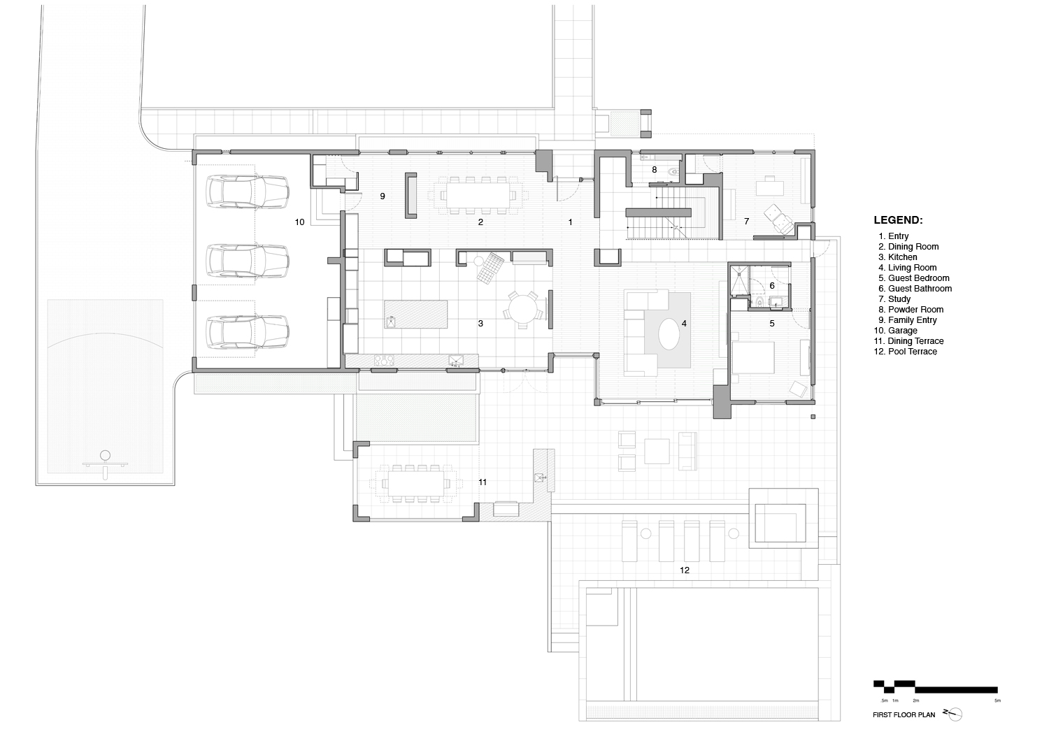 First Floor Plan SPG Architects}