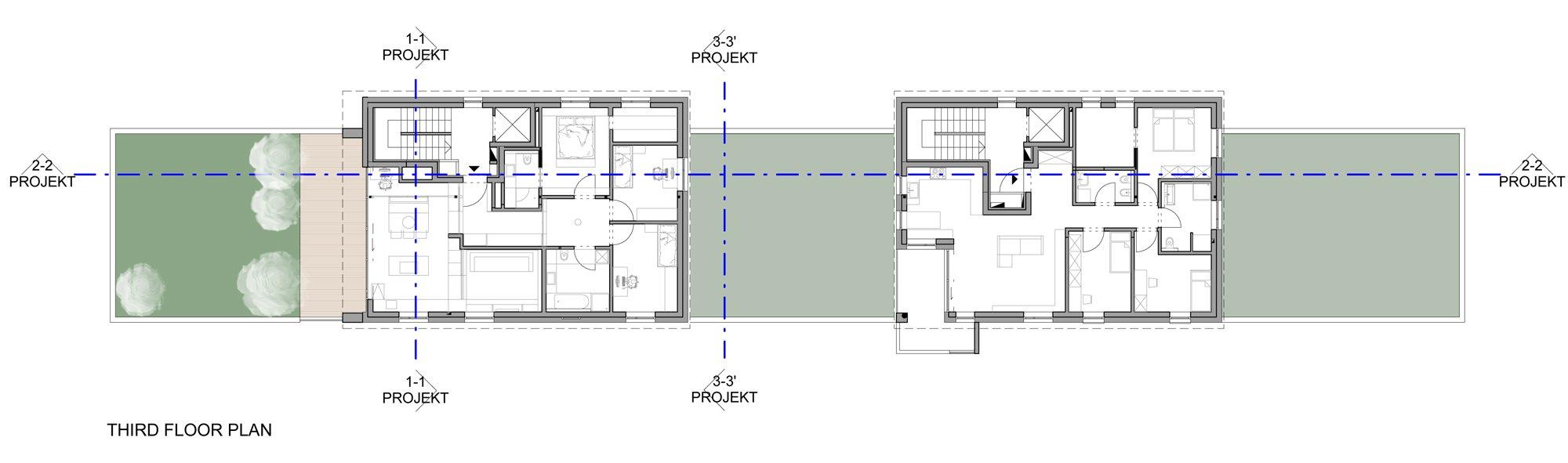 Plan of the Third Floor }