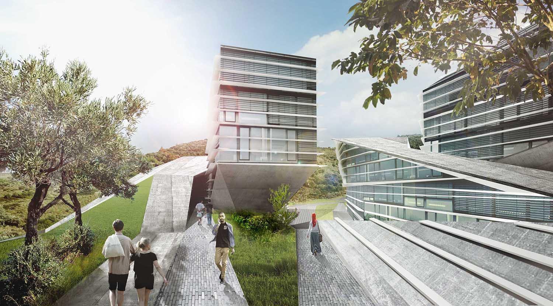 University Building - Rooftop