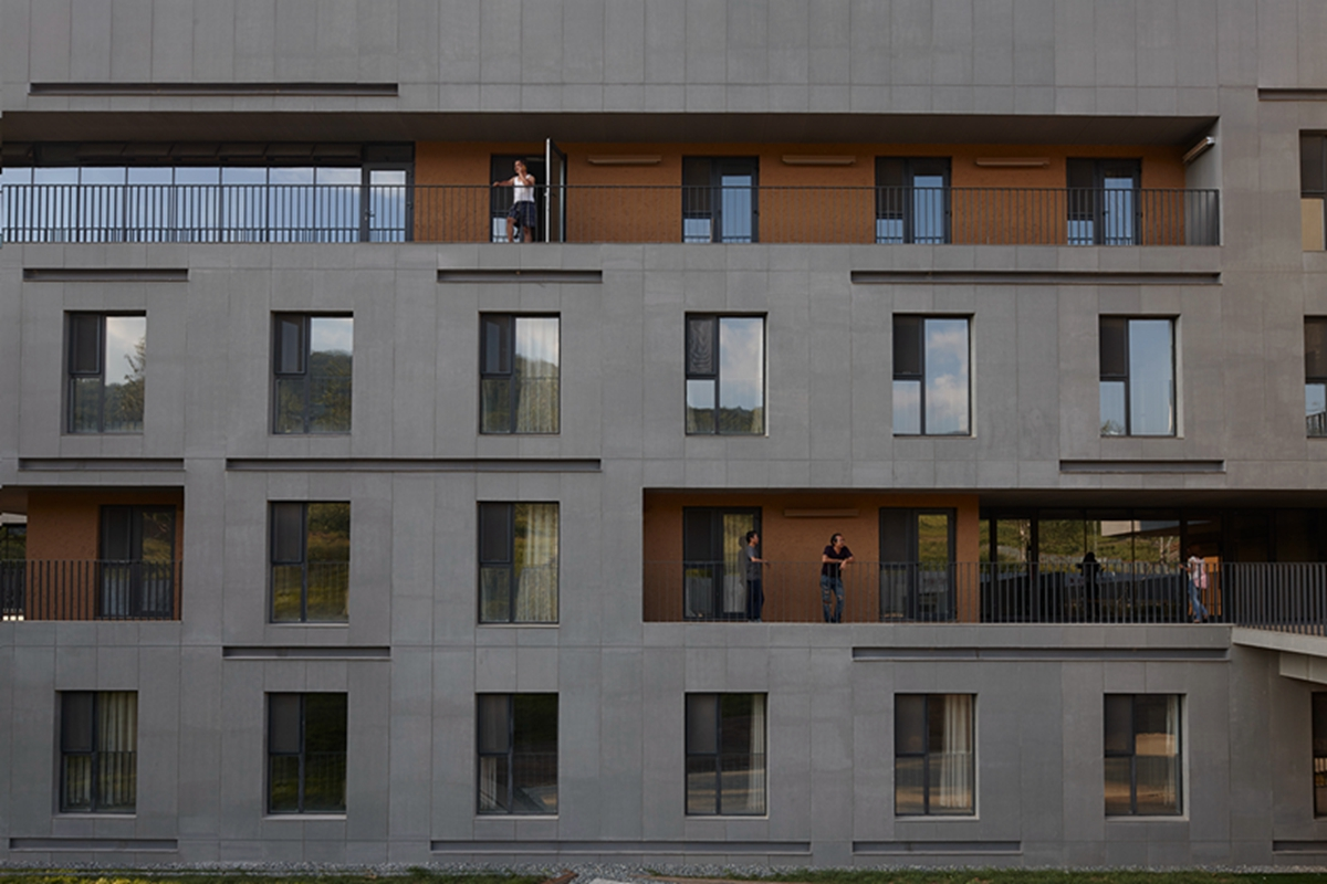 6-South facade partial