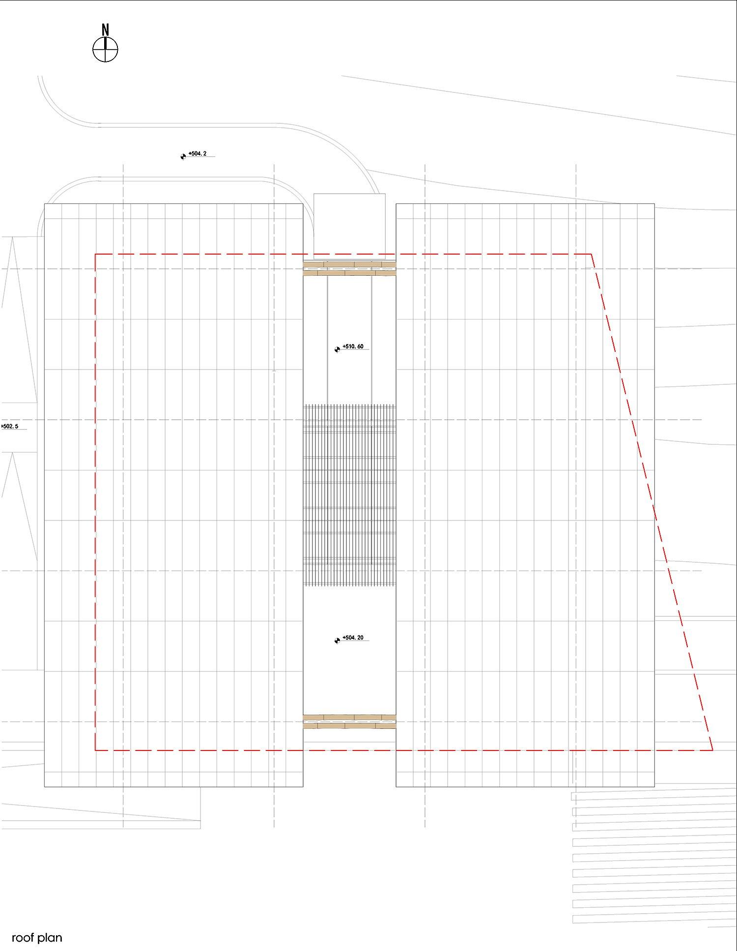 6. Roof plan }