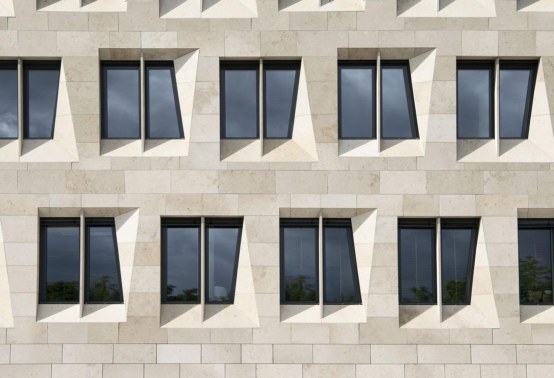Detail of the facade David Matthiessen