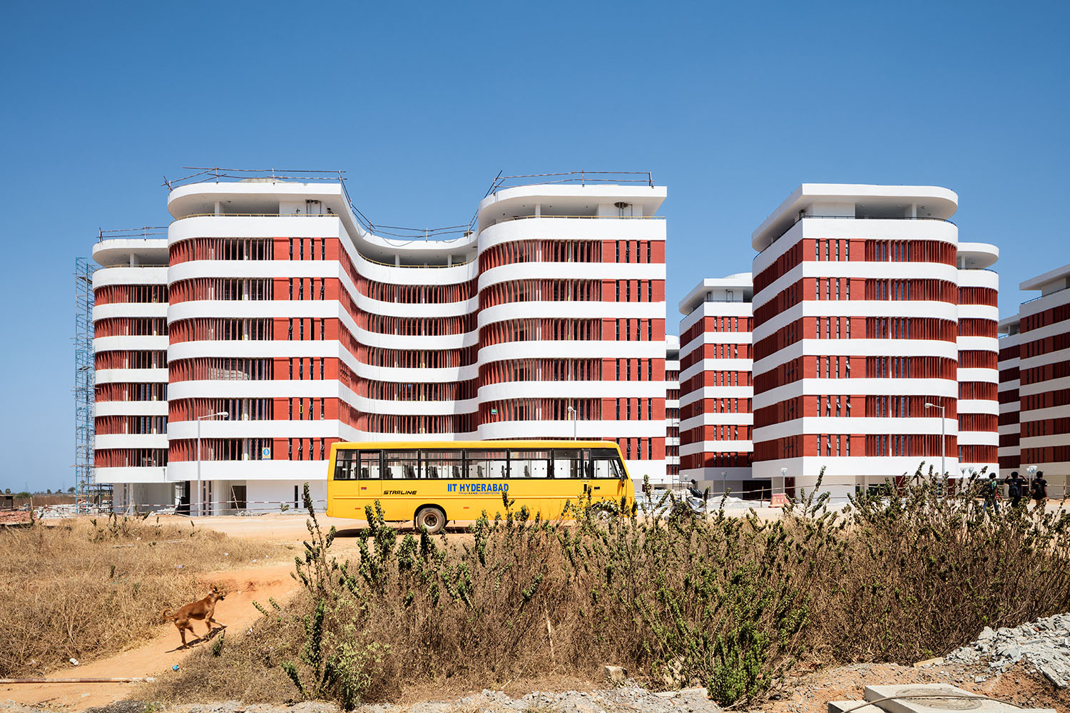 Overview student houses (during construction phase) Marcus Bredt