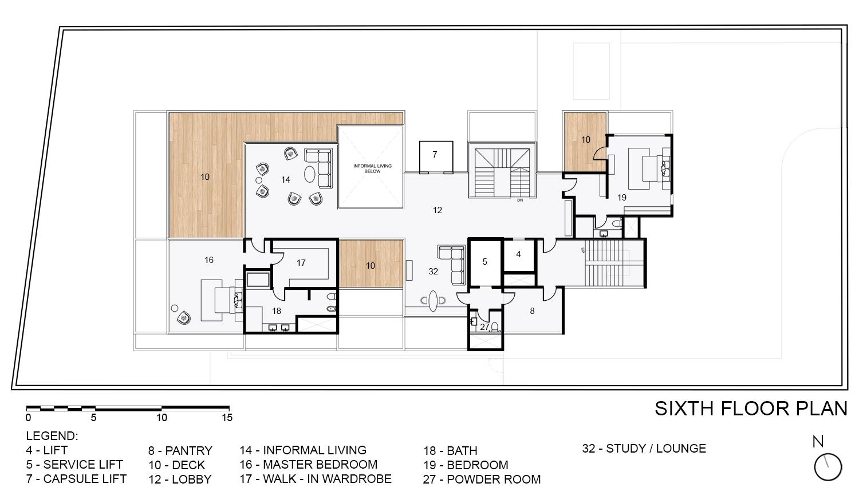 Sixth Floor Plan KNS Architects