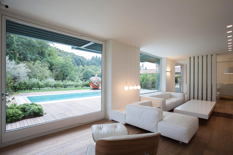 foto dell'area soggiorno-cucina-pranzo Leonardo Gentili