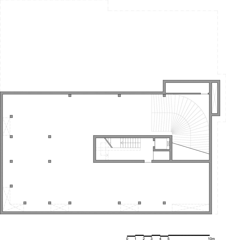 Planimetria di progetto piano -2  }