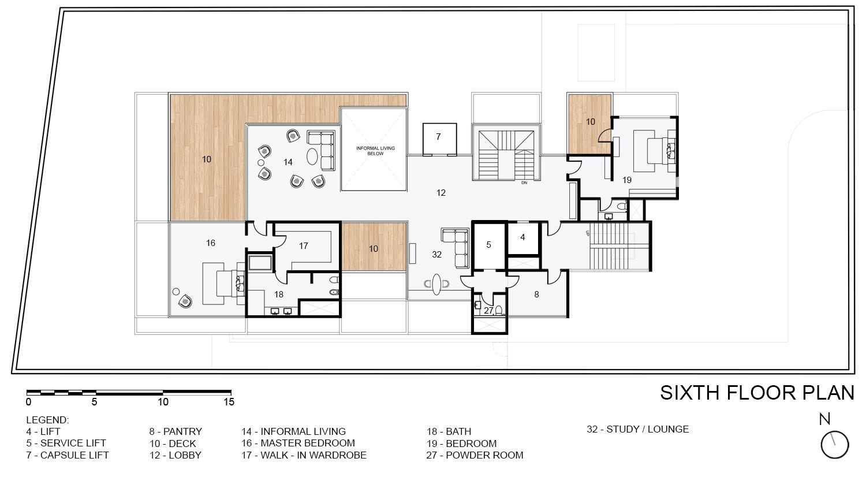 Sixth Floor Plan KNS Architects}