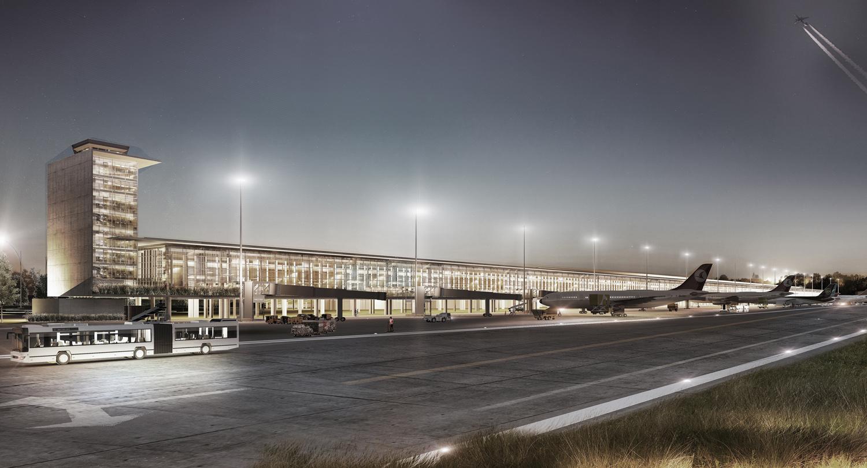 Çukurova Regional Airport Complex - Render