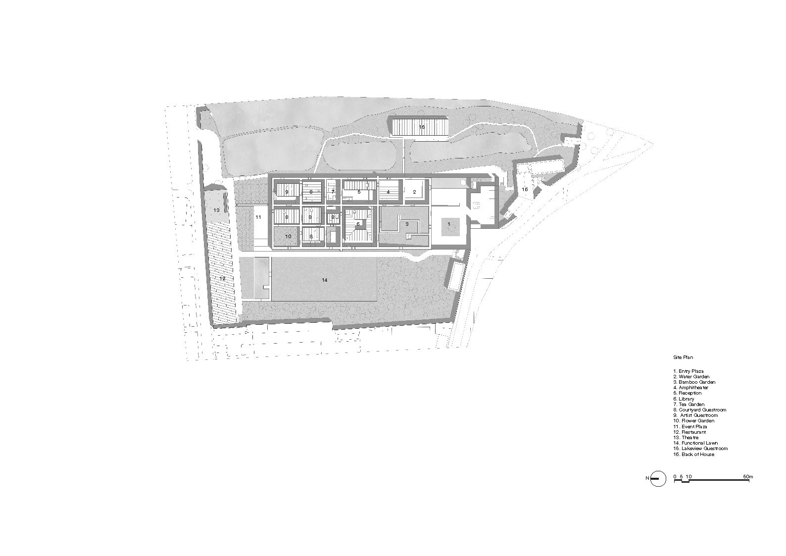 Site Plan Neri&Hu Design and Research Office}