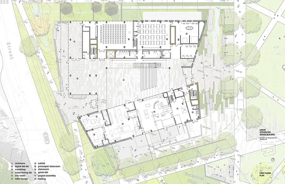 Ground Floor Plan Leers Weinzapfel Associates }