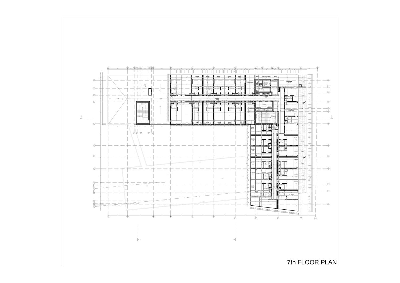 7th FLOOR PLAN Studio Vertebra}