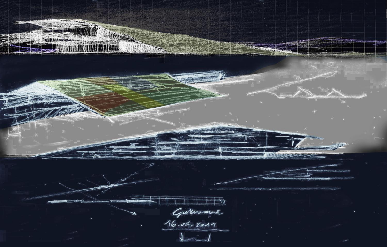 Çukurova Regional Airport Complex - Sketch }