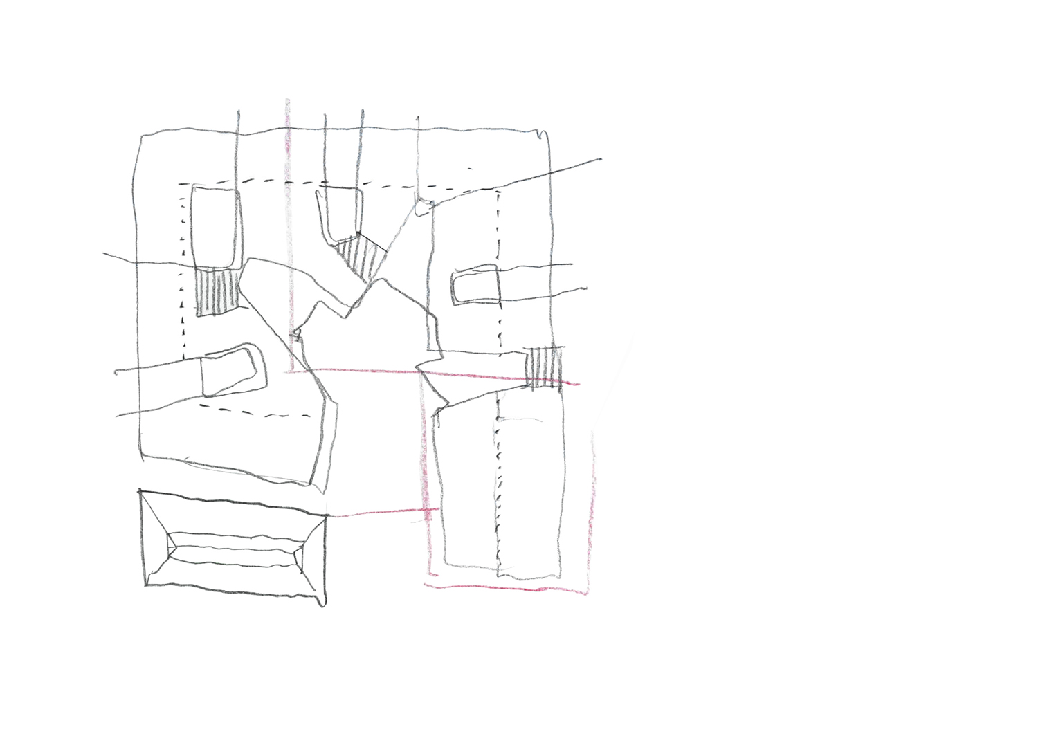 plan of the project sketch }
