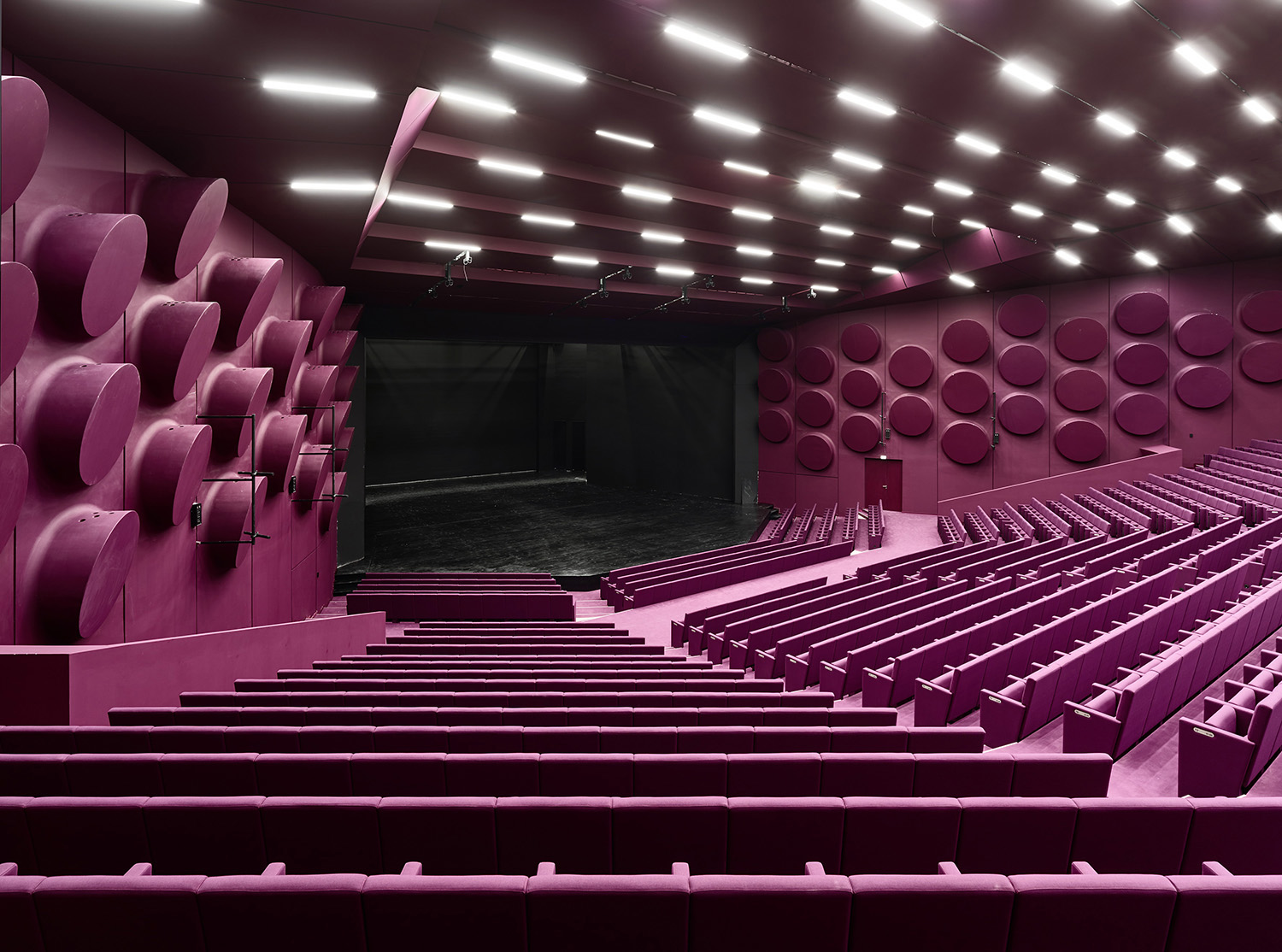 Auditorium Schweitzer (expanded from 900 to 1.200 seats)