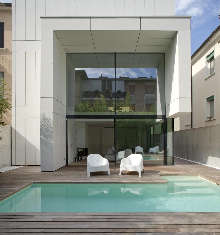 vista interna dlla piscina