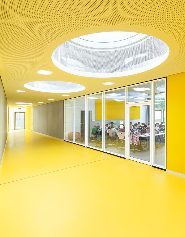 Yellow level, groundfloor