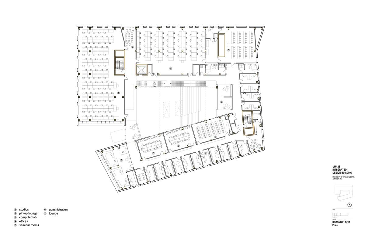 Second Floor Plan Leers Weinzapfel Associates }
