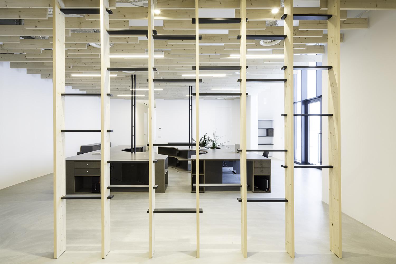 open space e partizione interna  Filippo Poli