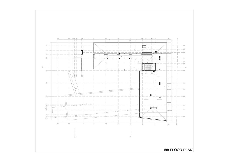 8th FLOOR PLAN Studio Vertebra}