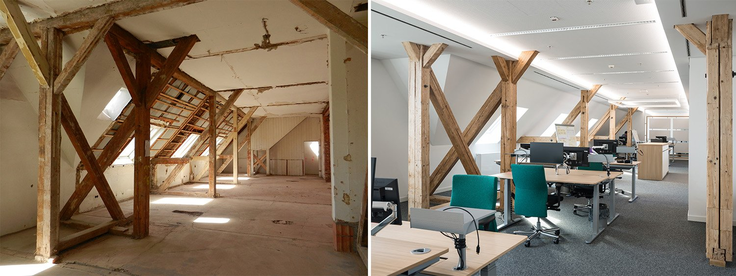 Open Space - Before and After Il Prisma