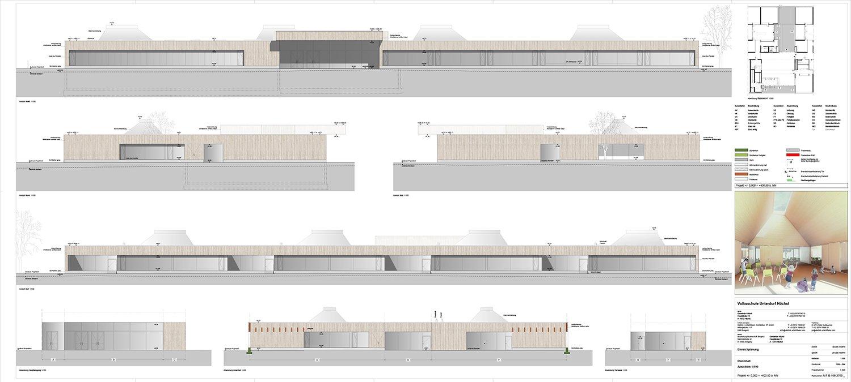 School Unterdorf_views detailed Dietrich | Untertrifaller Architekten}