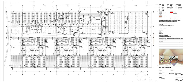 School Unterdorf_ground floor detailed Dietrich | Untertrifaller Architekten}