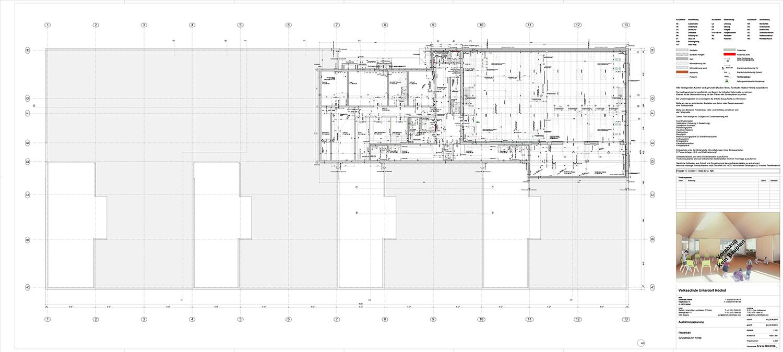 School Unterdorf_basement gym detailed Dietrich | Untertrifaller Architekten}