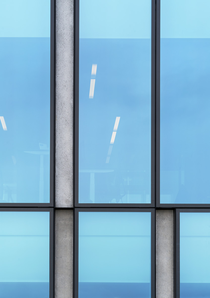 Exterior glazing/cladding detail  Åke E.son Lindman
