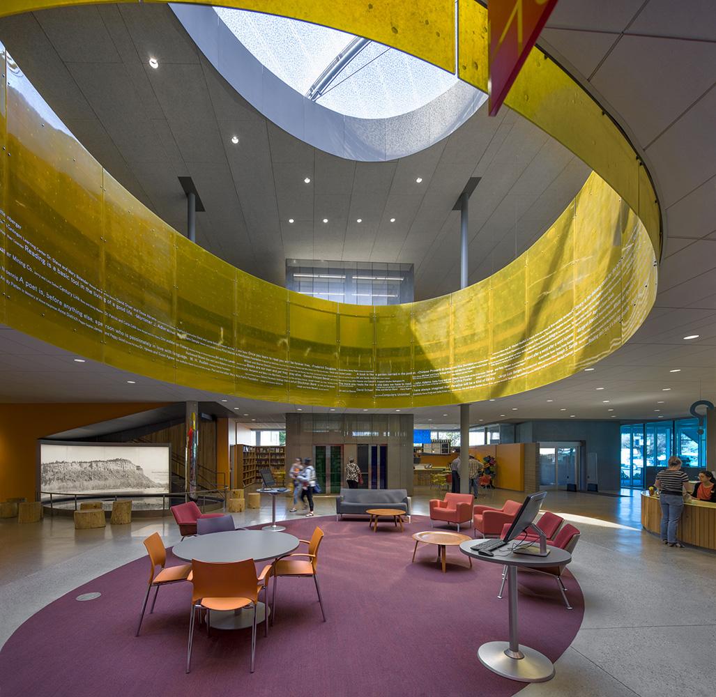 lobby under oculus