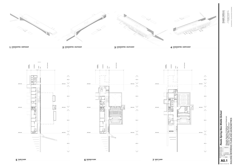 General Building Floor Plans & Axonometric Dake Wells Architecture}