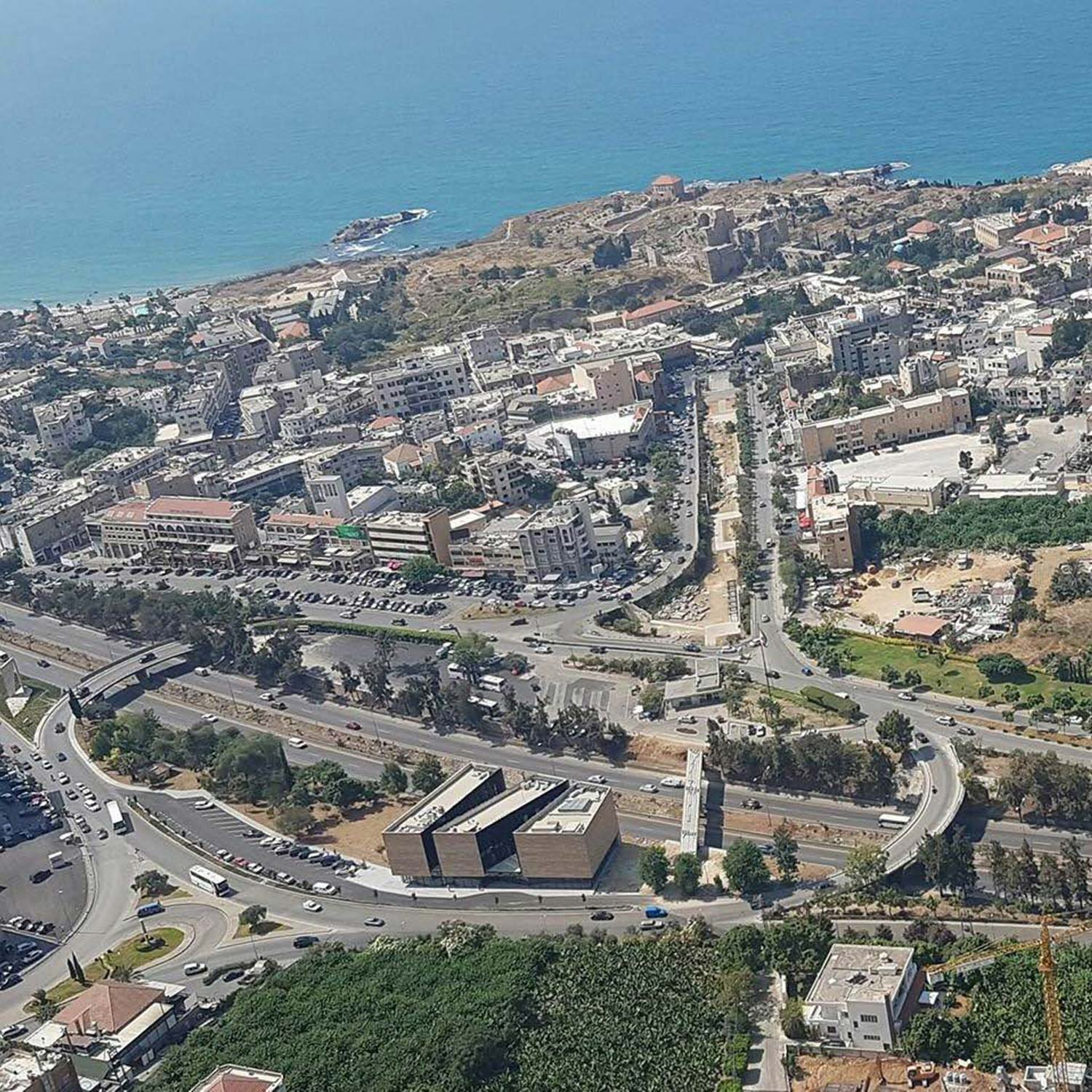Byblos Town Hall Aerial