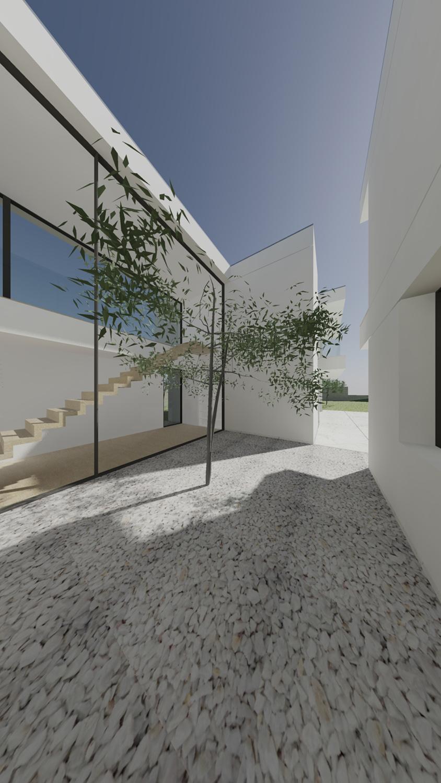 exterior view Raulino Silva Architect