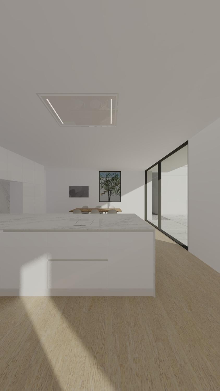 kitchen view Raulino Silva Architect