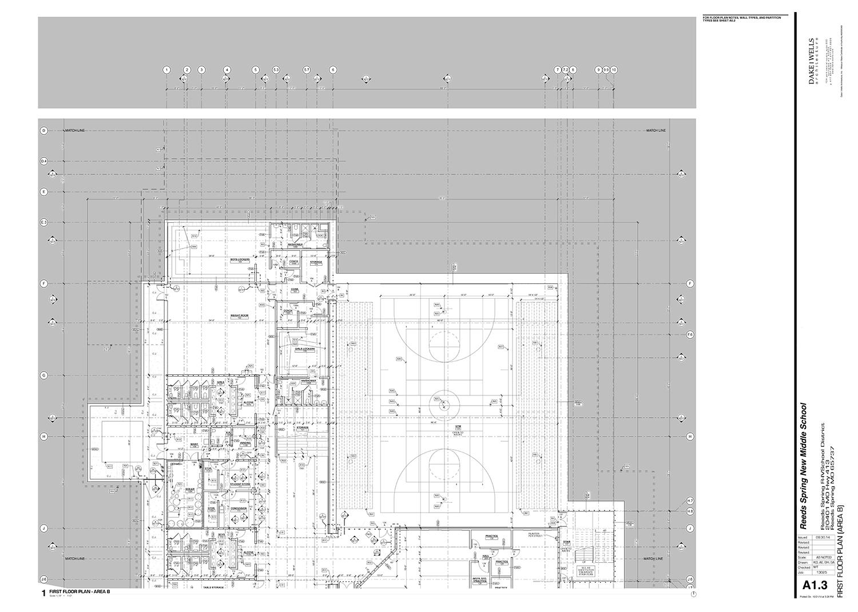 First Floor Plan - Area C Dake Wells Architecture}