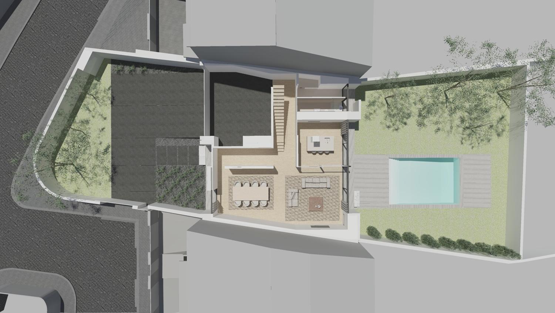 ground floor view Raulino Silva Architect