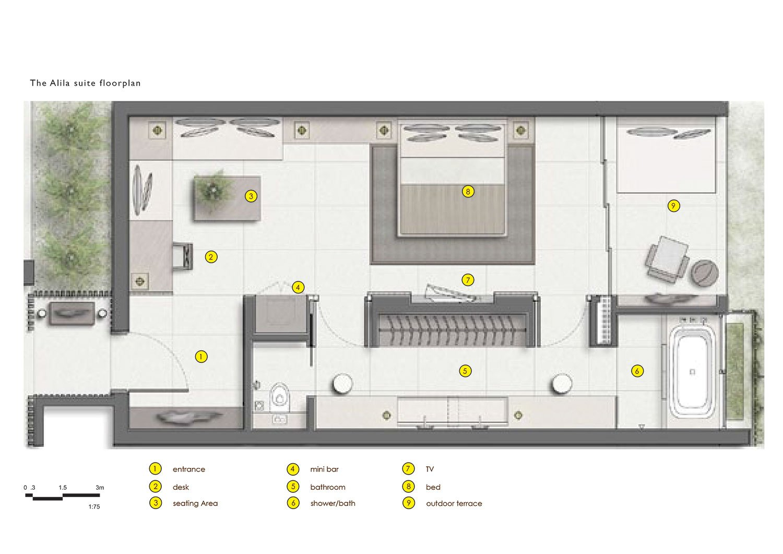 Alila Suite Plan }