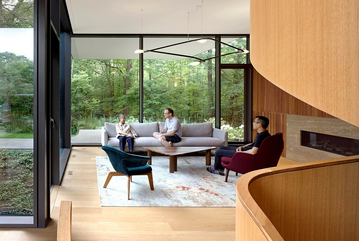Intergenerational and shared family spaces. Ben Rahn/A-Frame Inc.