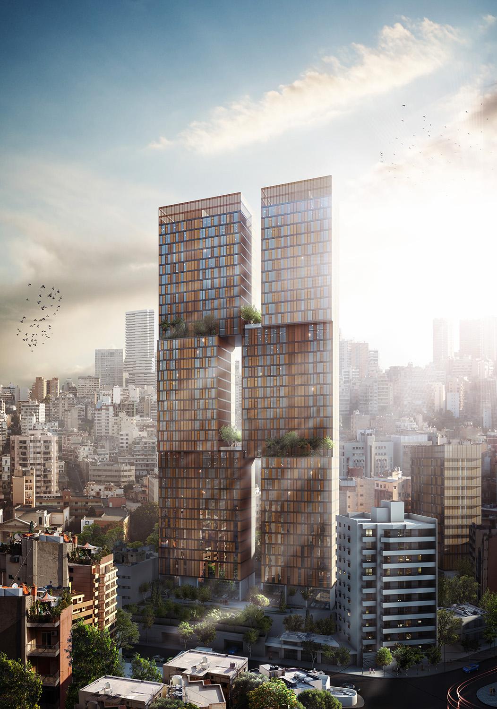 Ciel et Jardin Tower