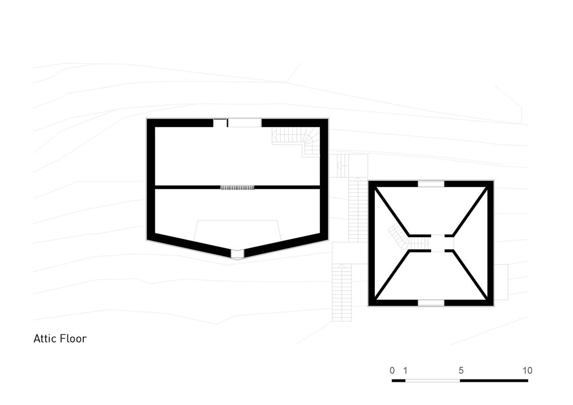 Plan Layout / Attic Floor Plan }