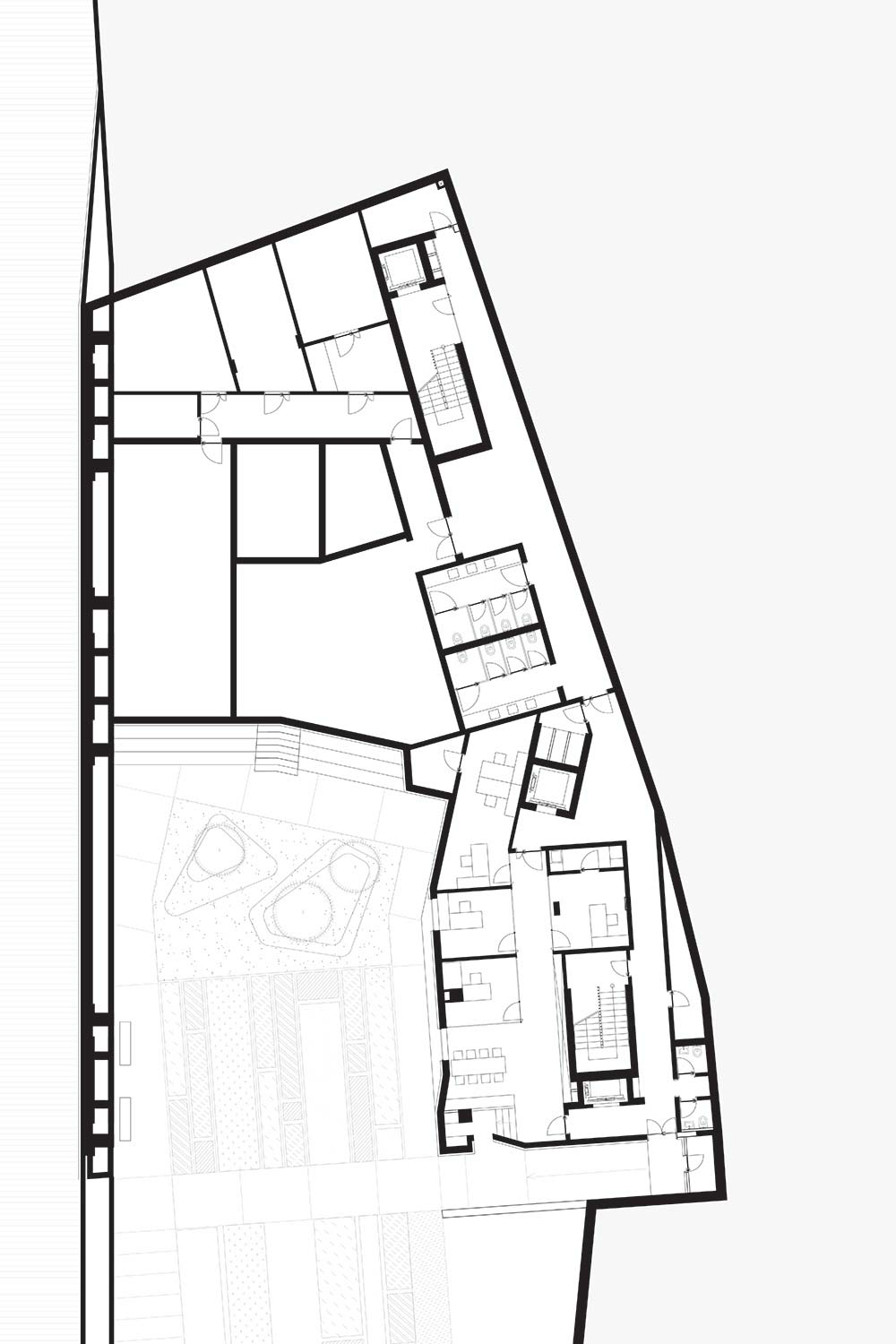 Byblos Town Hall Level -1 Plan }