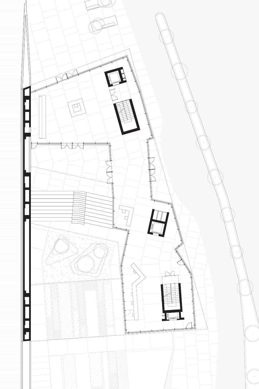 Byblos Town Hall Ground Plan }