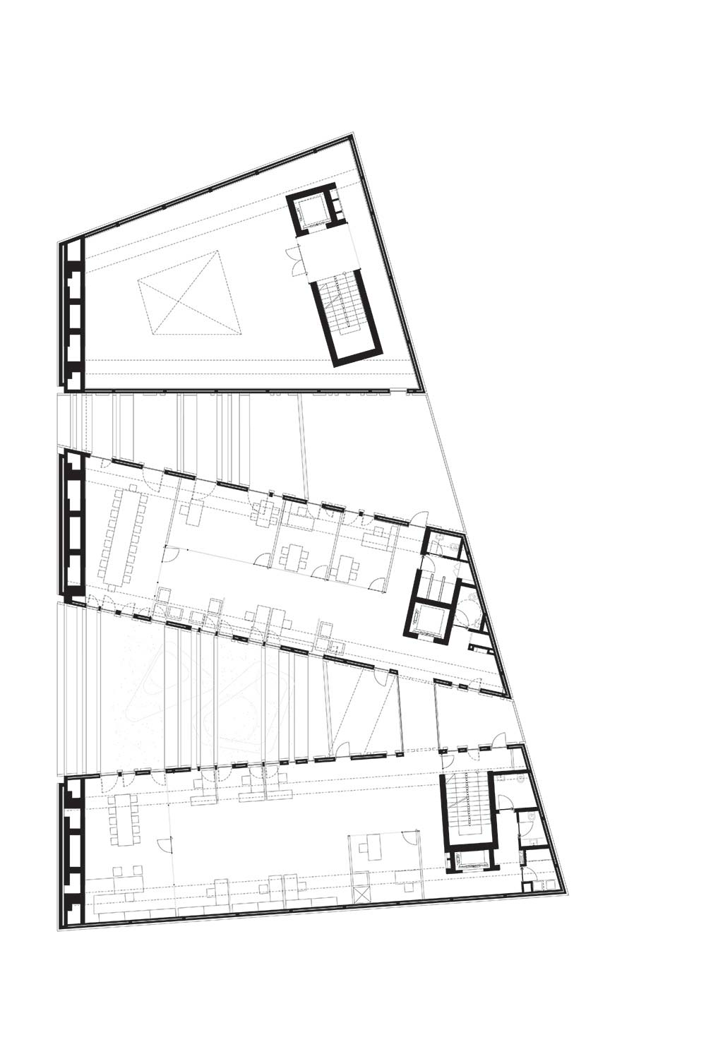 Byblos Town Hall Level 1 Plan }