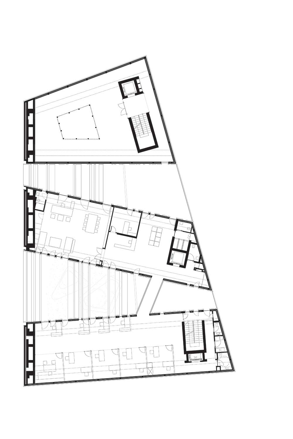 Byblos Town Hall Level 2 Plan }