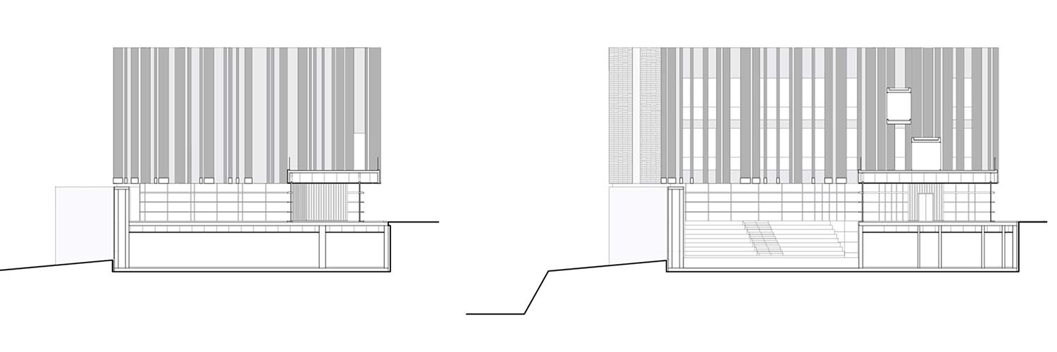 Byblos Town Hall Elevations of Internal Skin }