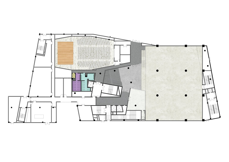B1 Floor Plan }