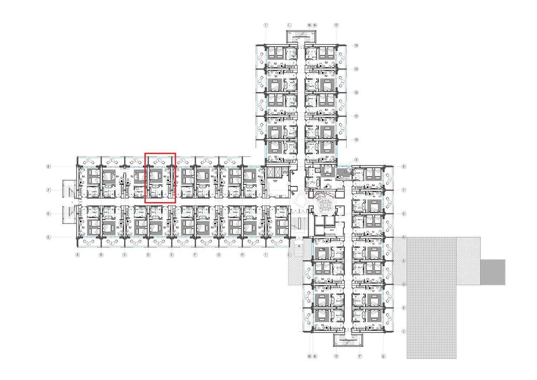 Pianta Main Building Piano 1 Studio KWG}